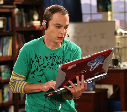 My son in a few years.  He idolizes Sheldon AND acts like him...