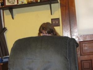 I hid.