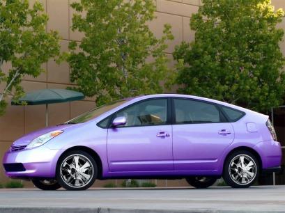 purple prius