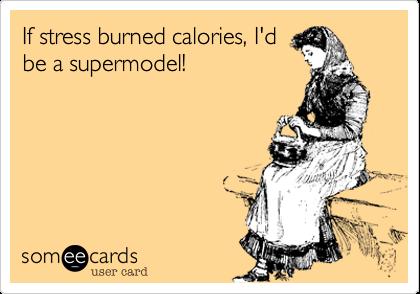 stress calories