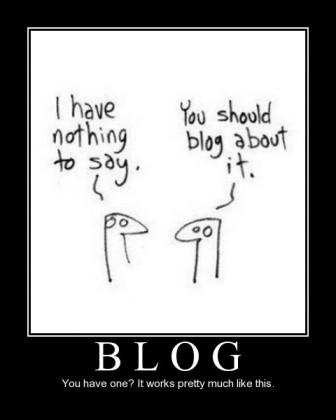 I often feel like I'm saying nothing...