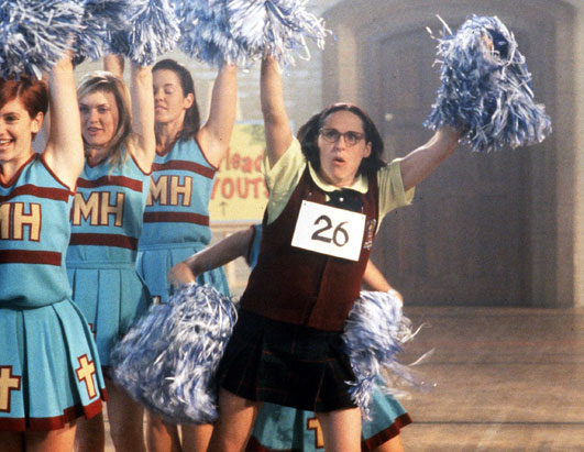 Everybody needs a cheerleader!