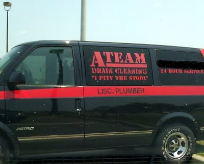 This makes me want to stuff something in my sink drain, just so the A-Team can come fix it!