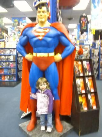 We're no strangers to the comic book store.