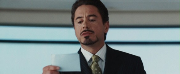 Tony Stark reads my letter of apology...