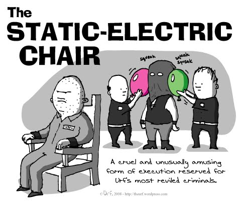 static electric chair