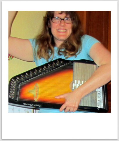 Proof that you can rock out with an autoharp.
