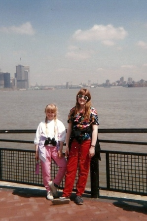 I went to New York City as a kid.  The future was so bright, I had to wear shades (and apparently a Hawaiian shirt).