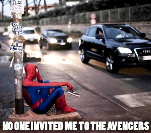 I know the feeling Spidey...