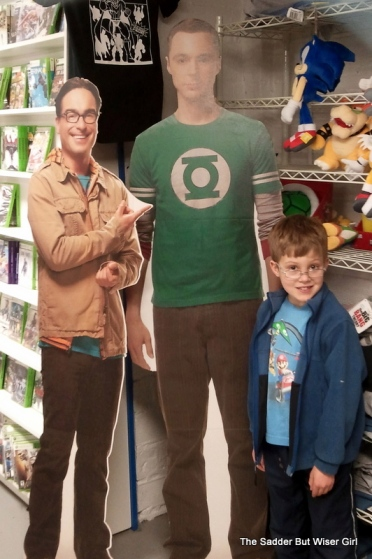 My son loves the comic book store.  Where else can you hang out with Leonard and Sheldon?