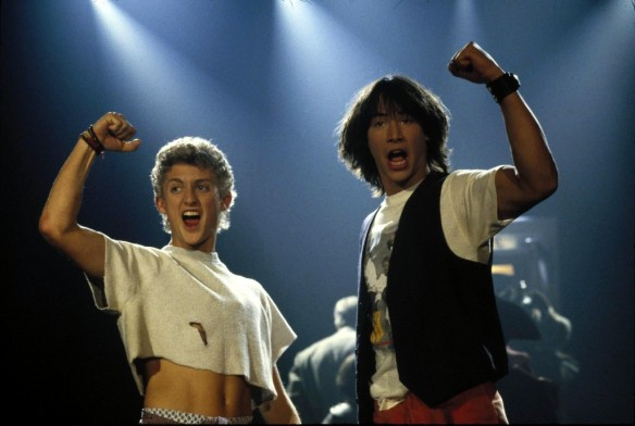 "They're supposedly doing a new Bill and Ted, so only appropriate to add to the ""excellent"" end of my post..."