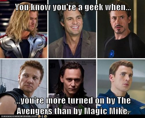 Avengers Magic Mike