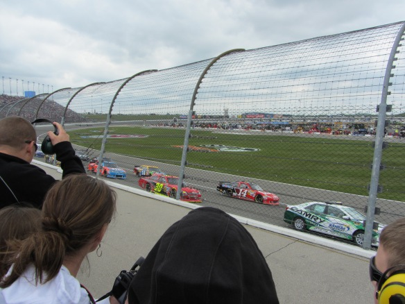 Squeeeeee!  We were so close to the cars!!!!