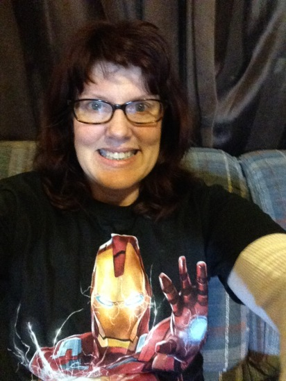 So getting through one day at a time.  An Iron Man shirt makes every day better though.